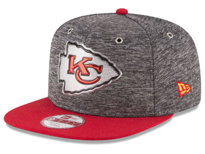 Kansas City Chiefs New Era 2016 NFL Draft 9FIFTY Original Fit Snapback Cap