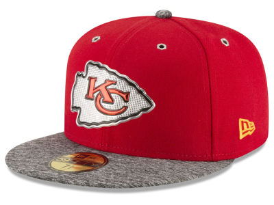 Kansas City Chiefs New Era 2016 NFL Kids Draft 59FIFTY Cap