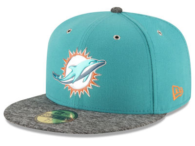 Miami Dolphins New Era 2016 NFL Kids Draft 59FIFTY Cap