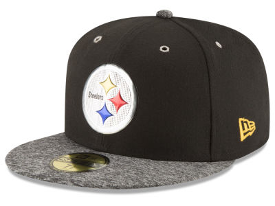 Pittsburgh Steelers New Era 2016 NFL Kids Draft 59FIFTY Cap