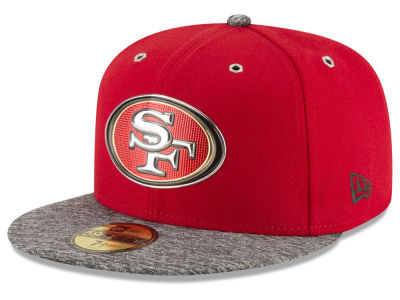 San Francisco 49ers New Era 2016 NFL Kids Draft 59FIFTY Cap