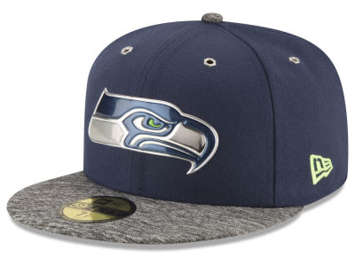 Seattle Seahawks New Era 2016 NFL Kids Draft 59FIFTY Cap