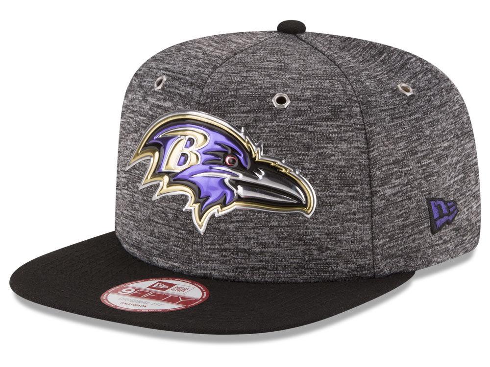 Baltimore Ravens New Era 2016 NFL Kids Draft 9FIFTY Original Fit Snapback  Cap  ba13afa14ce7