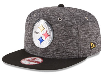 Pittsburgh Steelers New Era 2016 NFL Kids Draft 9FIFTY Original Fit Snapback Cap