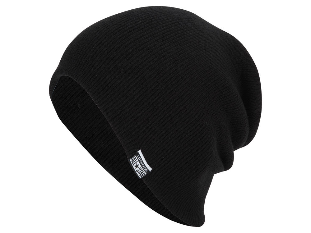 Converse Solid Slouch Beanie  b29aad86b91