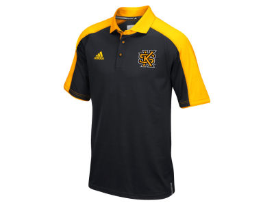 Kennesaw State Owls adidas NCAA Men's Sideline Polo Shirt