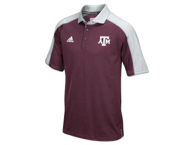Texas A&M Aggies adidas NCAA Men's Sideline Polo Shirt