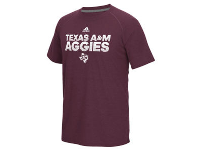 Texas A&M Aggies adidas NCAA Men's Sideline Hustle T-Shirt