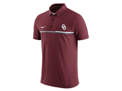 Oklahoma Sooners Nike NCAA Men's Elite Coaches Polo Shirt