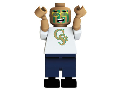 Colorado State Rams NCAA 2 for $20 OYO Figure