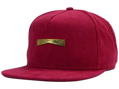 Mighty Healthy Suede Snapback Hat