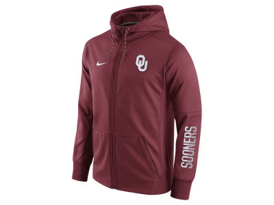 Oklahoma Sooners Nike NCAA Men's Circuit Full Zip Hoodie