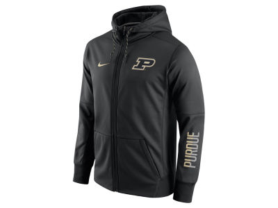 Purdue Boilermakers Nike NCAA Men's Circuit Full Zip Hoodie