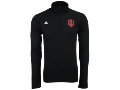 Indiana Hoosiers adidas NCAA Men's Primary Screen Ultimate Quarter Zip Pullover