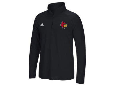 Louisville Cardinals adidas NCAA Men's Primary Screen Ultimate Quarter Zip Pullover
