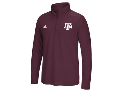 Texas A&M Aggies adidas NCAA Men's Primary Screen Ultimate Quarter Zip Pullover