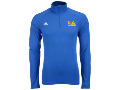 UCLA Bruins adidas NCAA Men's Primary Screen Ultimate Quarter Zip Pullover