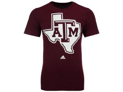 Texas A&M Aggies adidas NCAA Men's Huge Preferred Logo T-Shirt