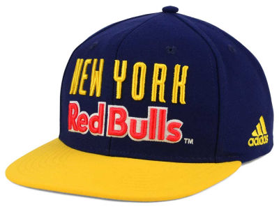 New York Red Bulls adidas MLS Jersey Snapback Cap