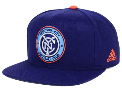 New York City FC adidas MLS Jersey Snapback Cap