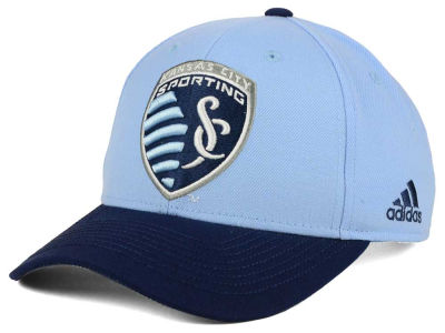 Sporting Kansas City adidas MLS Jersey Adjustable Cap