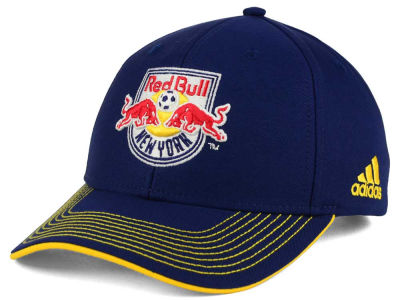 New York Red Bulls adidas MLS Jersey Adjustable Cap