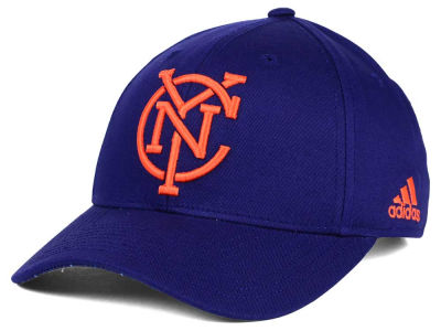 New York City FC adidas MLS Jersey Adjustable Cap