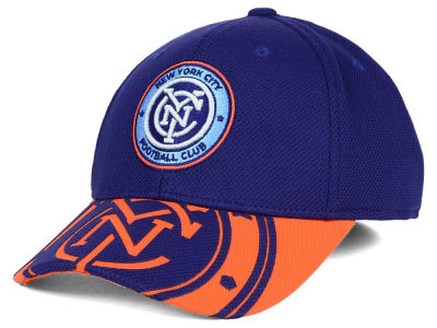 New York City FC adidas MLS Jersey Flex Cap