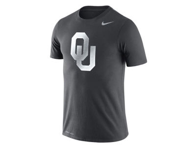 Oklahoma Sooners Nike NCAA Men's Dri-Fit Cotton Travel T-Shirt