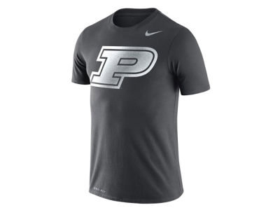 Purdue Boilermakers Nike NCAA Men's Dri-Fit Cotton Travel T-Shirt