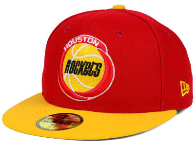 Houston Rockets New Era NBA HWC 2 Tone Basic 59FIFTY Cap