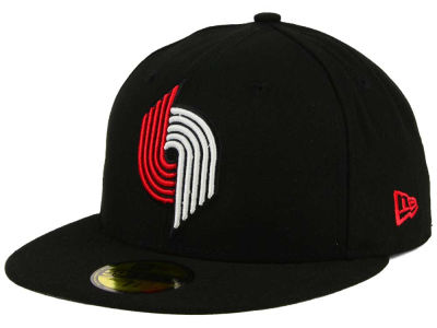 Portland Trail Blazers New Era NBA HWC 2 Tone Basic 59FIFTY Cap