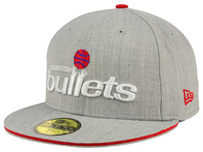 Washington Bullets New Era HWC Heather Slice 59FIFTY Cap