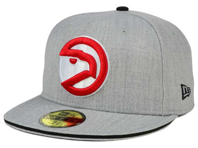 Atlanta Hawks New Era HWC Heather Slice 59FIFTY Cap
