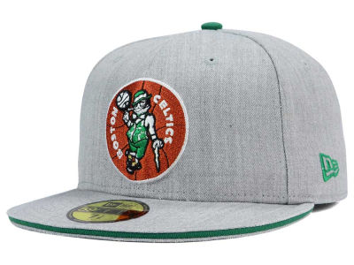 Boston Celtics New Era HWC Heather Slice 59FIFTY Cap