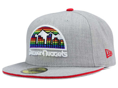 Denver Nuggets New Era HWC Heather Slice 59FIFTY Cap