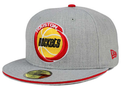 Houston Rockets New Era HWC Heather Slice 59FIFTY Cap