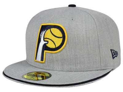 Indiana Pacers New Era HWC Heather Slice 59FIFTY Cap