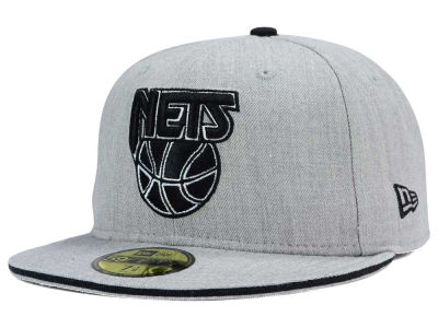 New Jersey Nets New Era HWC Heather Slice 59FIFTY Cap