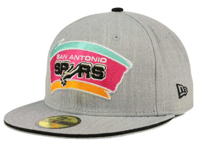 San Antonio Spurs New Era HWC Heather Slice 59FIFTY Cap