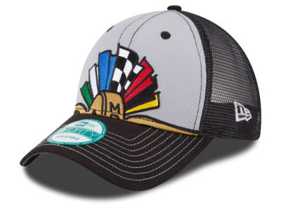 Indianapolis Motor Speedway New Era Flag Trucker 9FORTY Cap
