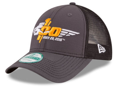 Indianapolis 500 New Era 100th Running Bold Mesher 9FORTY Cap