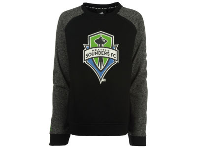 Seattle Sounders FC adidas MLS Youth Raglan Fleece Crew