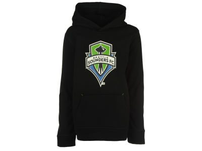 Seattle Sounders FC adidas MLS Youth Stealth Pullover Hoodie