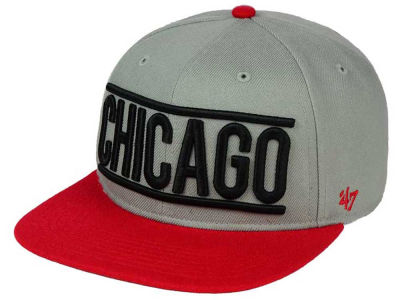 Chicago Blackhawks '47 NHL On Track 2-Tone Snapback Cap