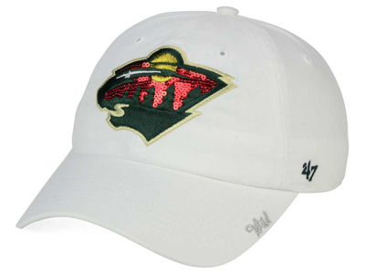 Minnesota Wild '47 NHL '47 Women's Sparkle Cap