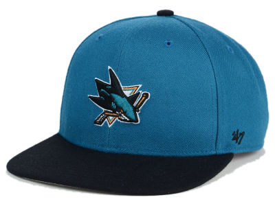 San Jose Sharks '47 NHL Youth '47 Lil Shot Snapback Cap