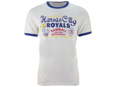 Kansas City Royals '47 MLB Men's Archive Ringer Bicentennial T-Shirt