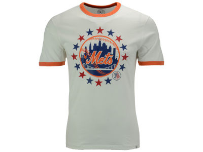 New York Mets '47 MLB Men's Archive Ringer Bicentennial T-Shirt