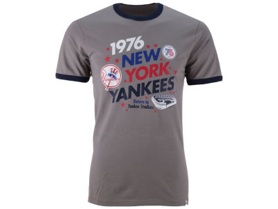 New York Yankees '47 MLB Men's Archive Ringer Bicentennial T-Shirt